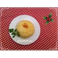 Yemekhobinin Safranlı Pilav Tarifi