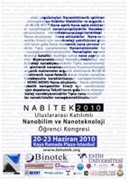 Nabitek Uluslararası Katılmlı Nanobilim Ve Nanotek
