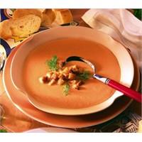 Baharatlı Domates Çorbası