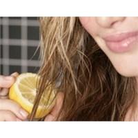 Boyasız Saç Rengini Açma Yöntemleri