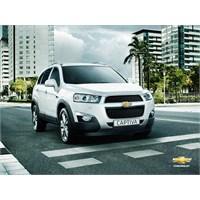2012 Yeni Chevrolet Captiva Bütün Detayları Burada
