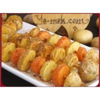 Şişte Patates Tarif