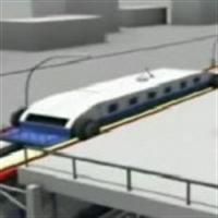 """Çinlilerin """"duraklarda Durmadan Yolcu Alan Tren"""" P"""