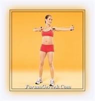 Resimlerle Sarkan Kolları Toparlayan Egzersizler