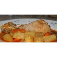 Fazlıkızından Patatesli Tavuk Baget