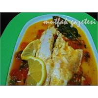 Domates Soslu Dil Balığı