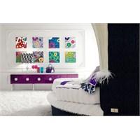 Genç Bayanlar İçin Yatak Odası Tasarımı