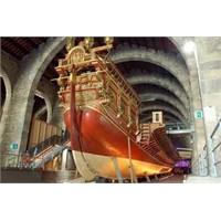 Barselona'nın Ünlü Denizcilik Müzesi-museu Maritim