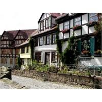 Masalsı Alman Şehri Quedlinburg