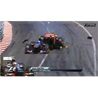 Grosjean'a Grid Cezası, Raikkonen'e Kınama Geldi