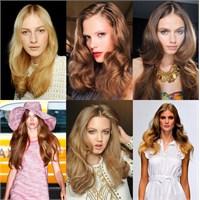 2012 Yazı Saç Trendleri