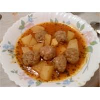 Köfteli Patates Yemeği Nasıl Yapılır?