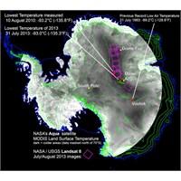 Nasa Dünyanın En Soğuk Yerini Tespit Etti