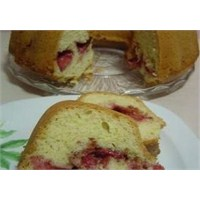 Çilekli Sakızlı Pasta Yapımı