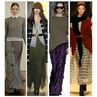 2011 Uzun etek modası