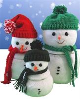 Noel Baba Örgüleri,kardan Adam,örgü Oyuncaklar