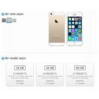 16gb İphone 5s Gold Türkiye'de De Yok Satıyor!