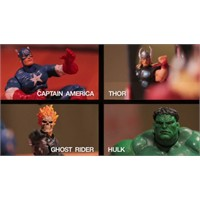 Stop Motion Super Heroes