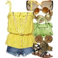 Yazlık Moda Kombinasyon Örnekleri