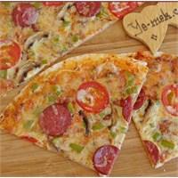 Karışık Tortilla Pizza