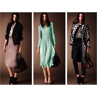 Burberry Pre-fall 2014 Ayakkabı Ve Çanta Modelleri