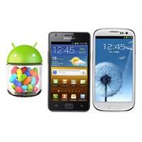 Galaxy'ler İçin Yeni Android'ler Hazır
