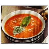Fesleğenli Domates Çorbası (4 Kişilik)