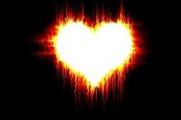 Photoshopta Ateş Saçan Kalp Yapımı
