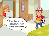 Çocuklar İçin Animasyonlu İlk Yardım Bilgileri 6