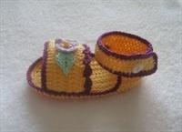 Bebeklerinize Sandalet Tipi Patik Örün..!!