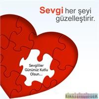 14 Şubat Sevgililer Gününüz Mübarek Olsun