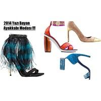2014 Yazında Bayan Ayakkabı Modası
