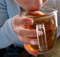 Kumaştaki Çay Lekesi