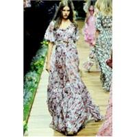 D & G Çiçekli Yaz Elbiseleri