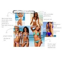 Vücut Tipine Uygun Bikini Seçimi