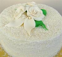 Beyaz Çikolata Kremalı Pasta
