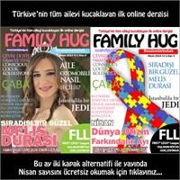 Family Hug Nisan Sayısı Çift Kapak Alternatifi İle