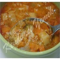 Vitamin Deposu Sebzeli Kış Çorbası