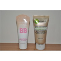 Maybelline Dream Fresh Bb - Garnier Bb Cream