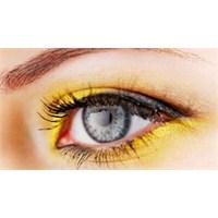 Yeni Makyaj Trendi, Sarı Renk Farlar