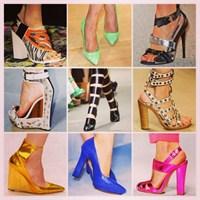2014 Bayan Ayakkabı Modası