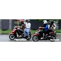 Kadınların Motosiklete Bacak Arası Binmesi Yasakla