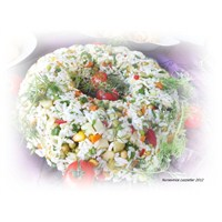 Nursevince Pirinç Salatası Tarifi