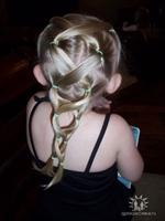 Çocuk Saç Örgü Modelleri , Şekilleri Ve Stilleri-3