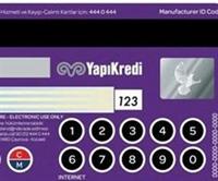 Klavyeli Kredi Kartı
