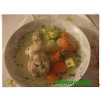 Kereviz Yapraklı Tavuk Haşlama