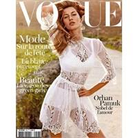 Vogue Paris'te Hem Gisele Bündchen Hem Orhan Pamuk