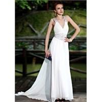 Beyaz Renkli Abiye Elbise Modası