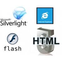 Yazılım Yıldız Savaşları – Html5, Flash, Silverlig