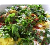 Papatya Salatası Yapılışı